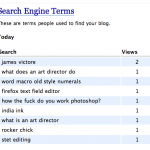 Search Engine Terms, 2/23/2008