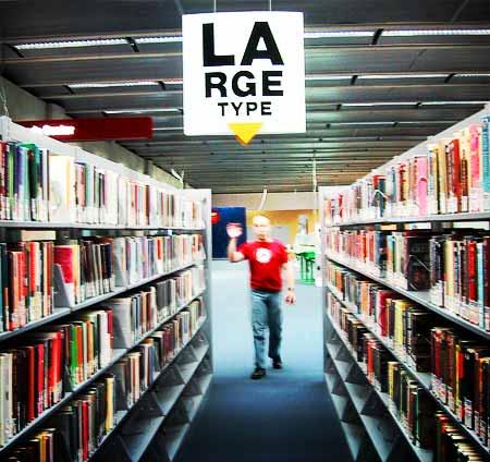 la-rge-type