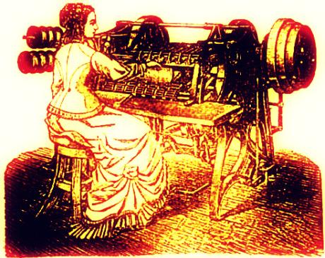 wire-sewing machine