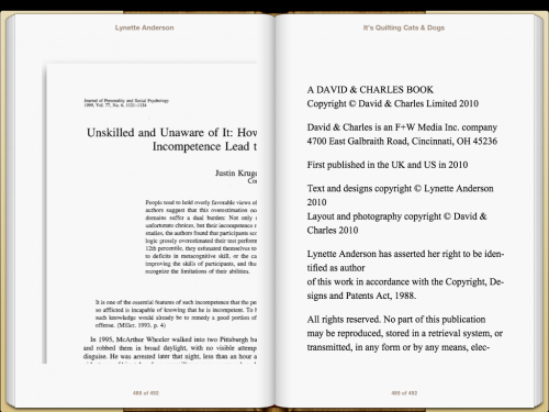 iBooks PDF-rendering glitch